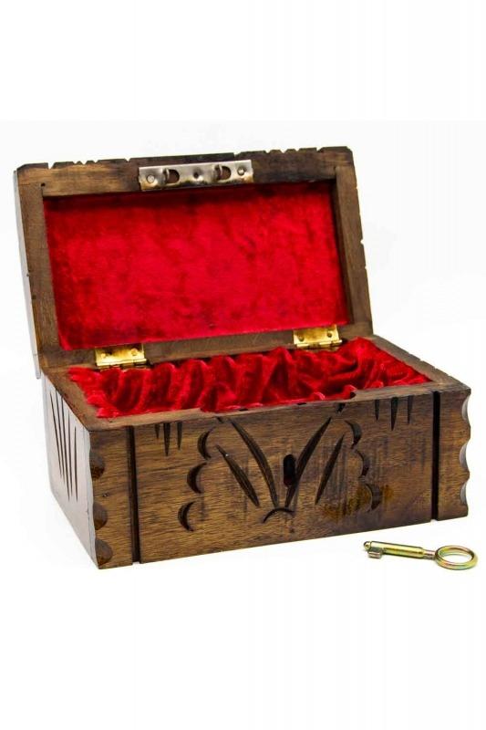 Walnut Jewelry Box (St)
