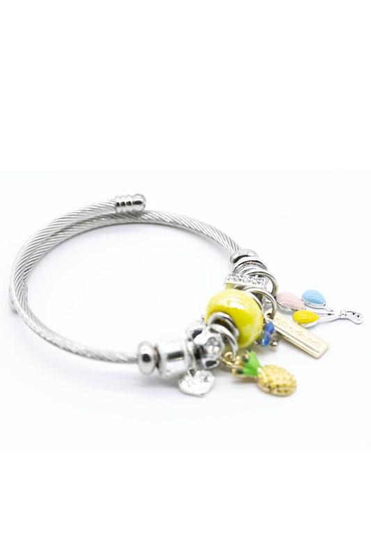 Pineapple Bracelet (Yellow)