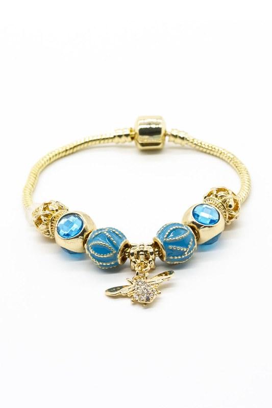 Arı Bileklik (Mavi)