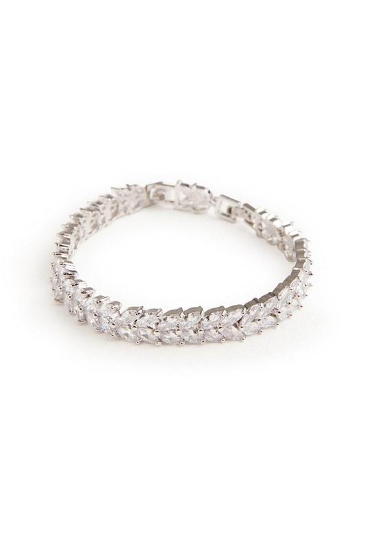 Baguette Cut Bracelet