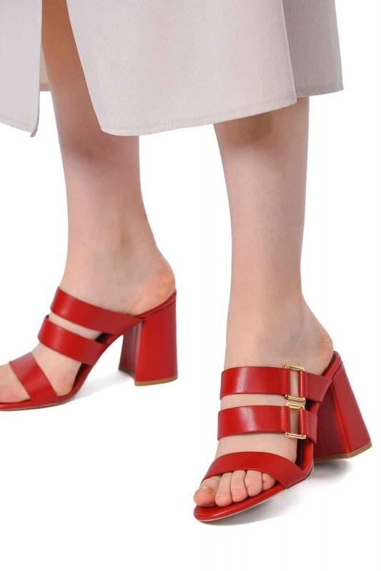 Bantlı Ayakkabı (Kırmızı)
