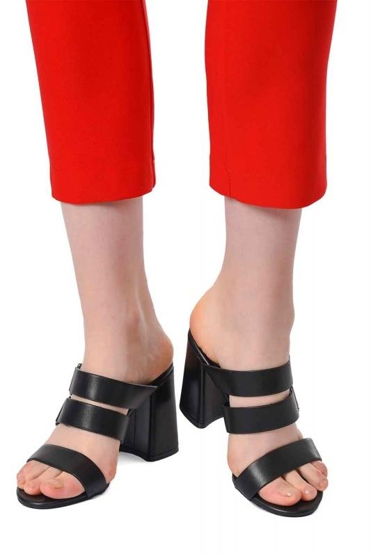 Bantlı Ayakkabı (Siyah)
