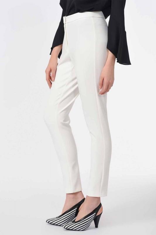 Basic Narrow Trousers (Ecru)
