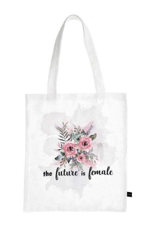 Baskılı Bez Çanta (Çiçek)