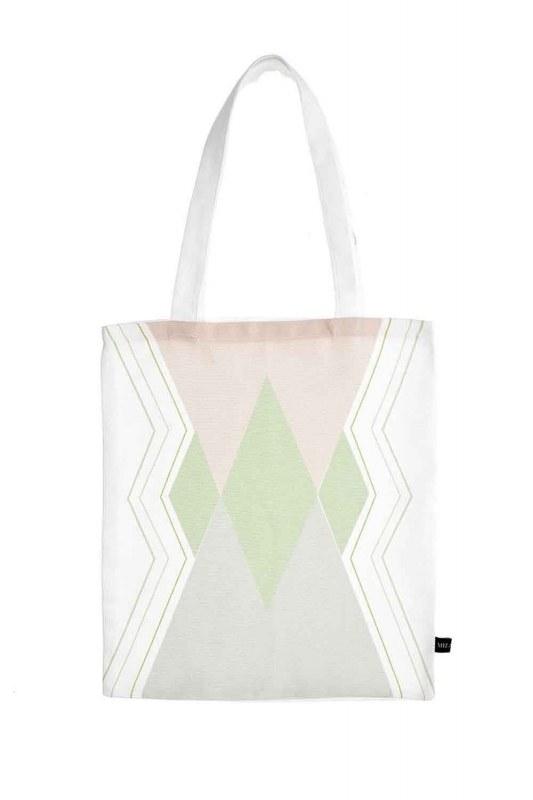 Baskılı Bez Çanta (Üç Renkli)