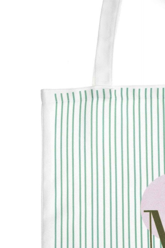 Cloth Bag (Green Stripe)