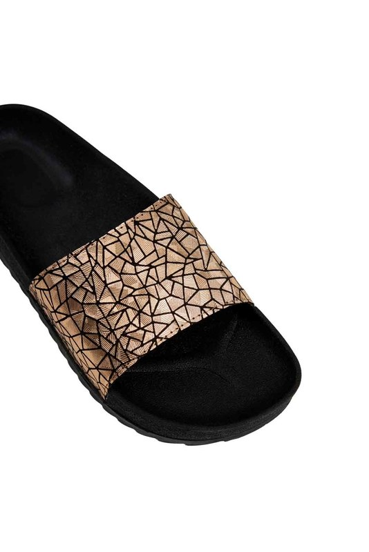 Soft Sole Slippers (Gold)