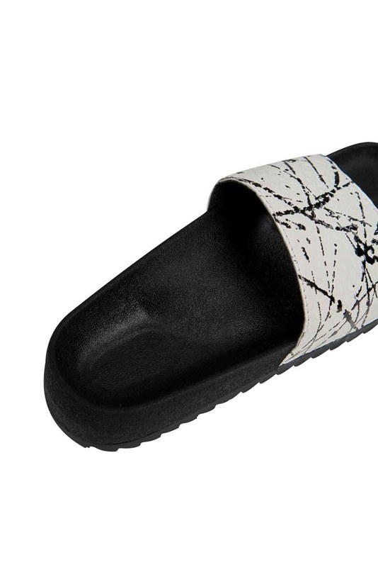 Soft Sole Slippers (White)
