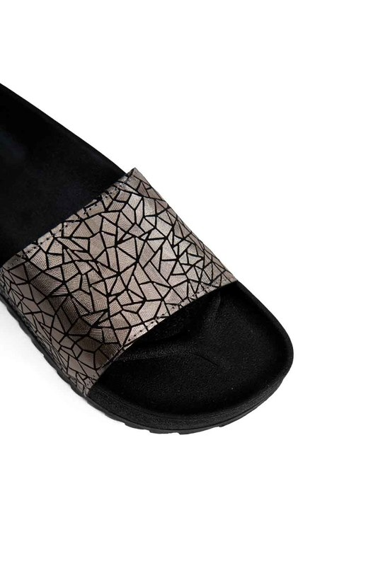 Soft Sole Slippers (Silver)