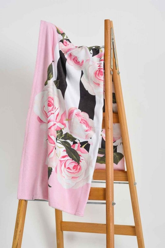 Beach Towel (Roses)