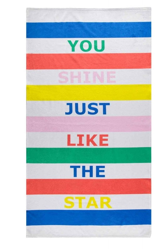 Beach Towel (Star)