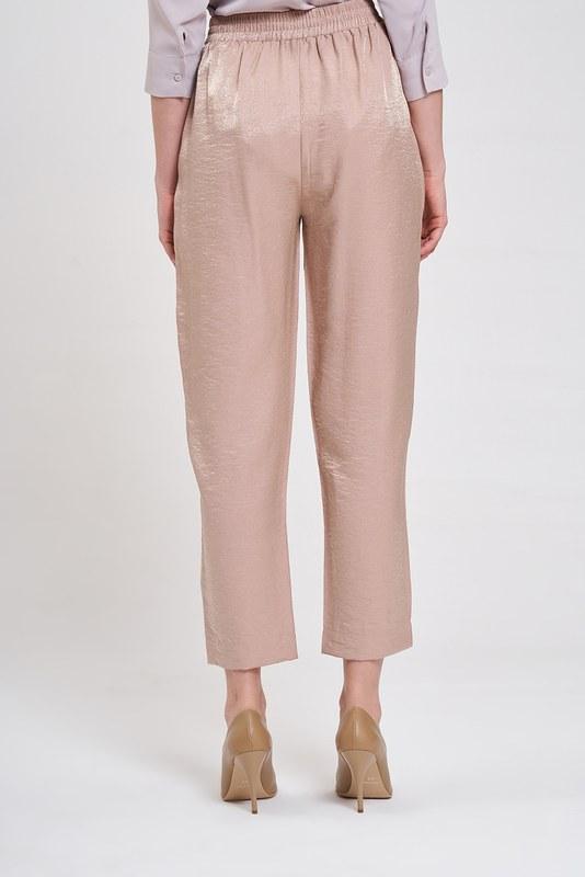 Beli Pileli Pantolon (Pudra)
