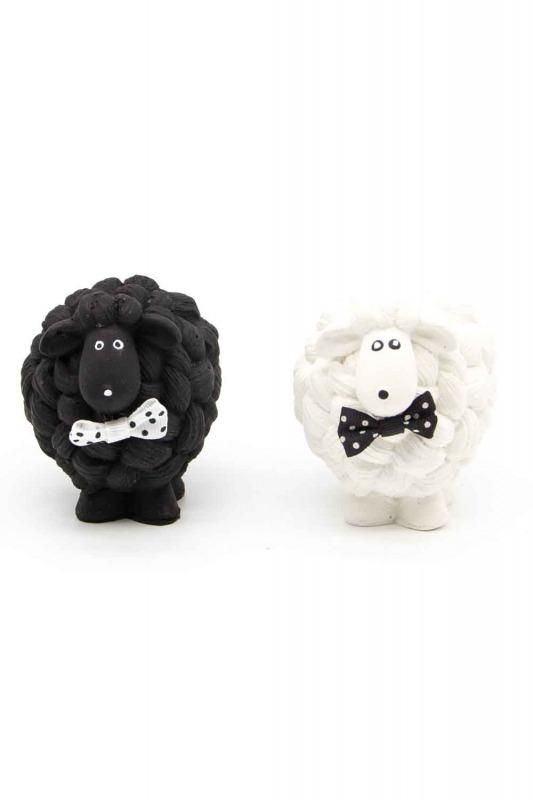Black and White Lamb Trinket