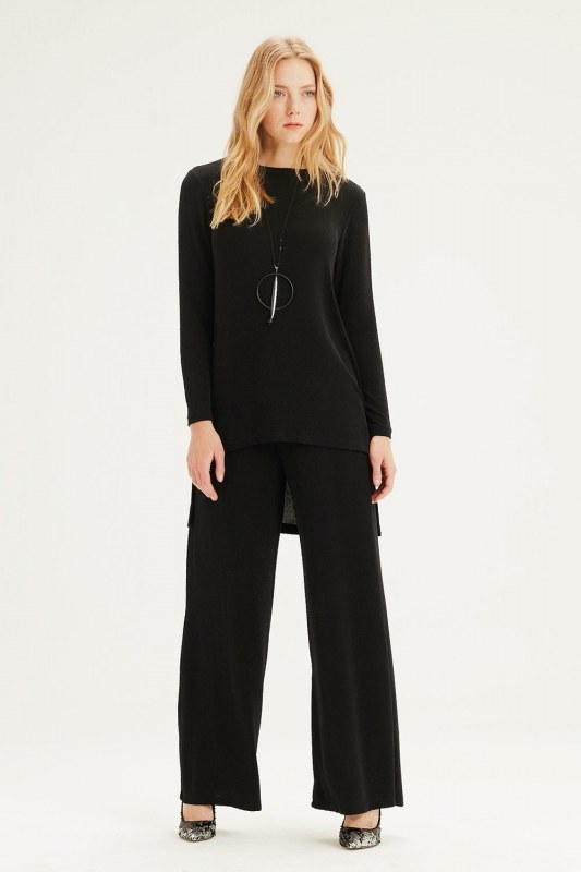 Plenty Leg Trousers (Black)