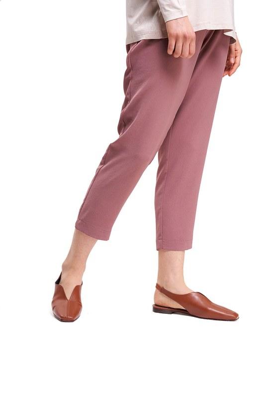 Burnu Kapalı Ayakkabı (Taba)