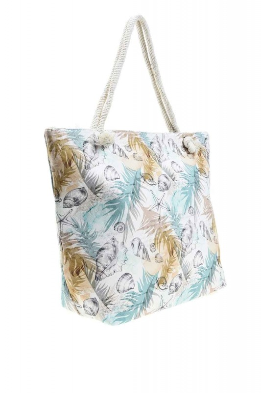 Large Beach Bag (Oyster)