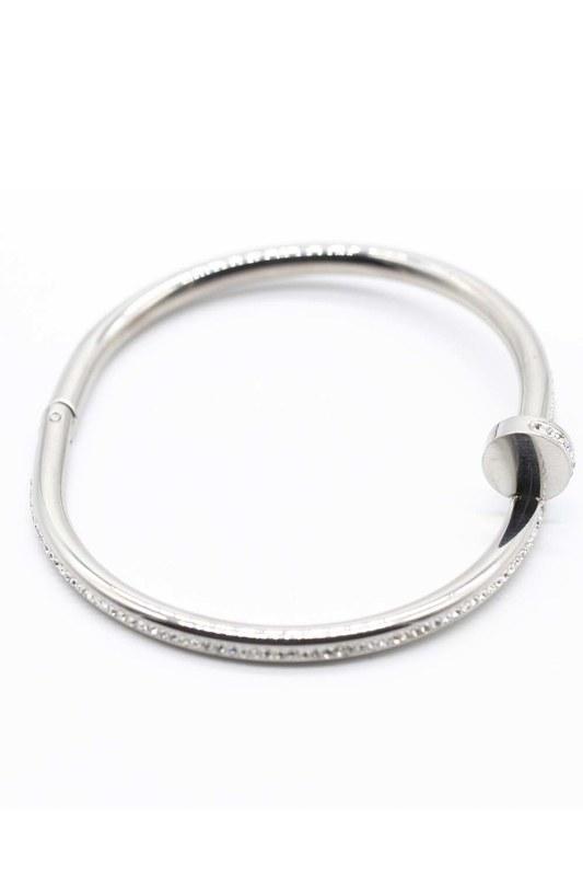 Steel Bracelet (Silver)