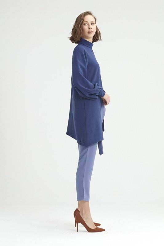 Coupled Collar Tunic (Blue)