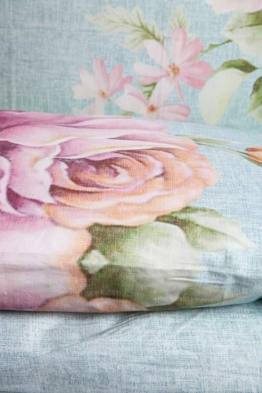 طقم بياضات من الزهور المزدوجة (200 × 220)