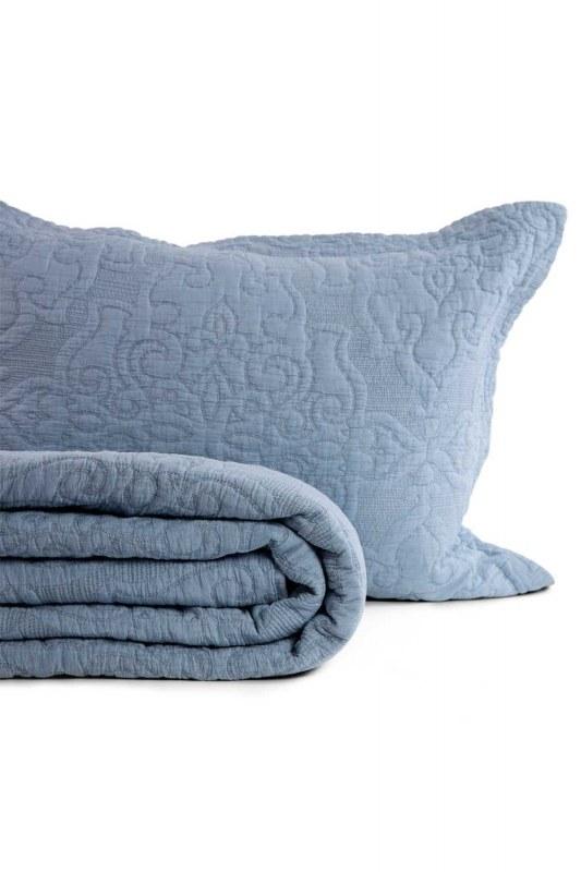Sis Mavisi Çift Kişilk Yatak Örtüsü (260X270)