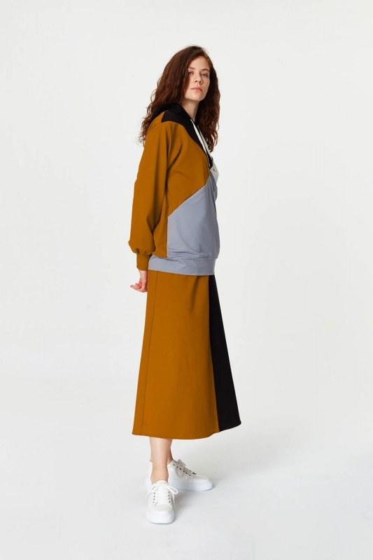 قميص من النوع الثقيل متعدد القطع (رمادي)