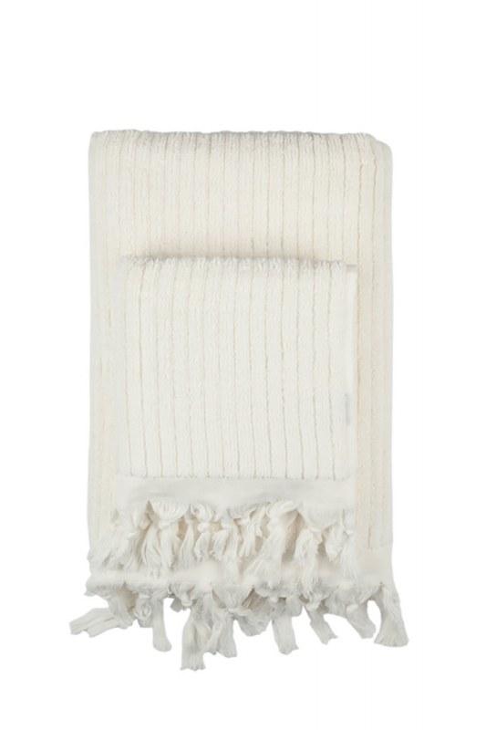 Cotton Towel Ecru (45X90)