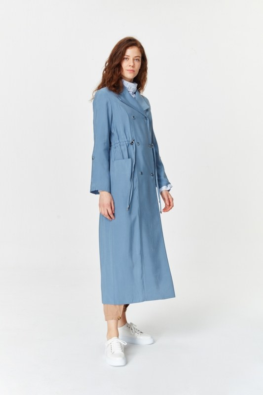 Luxury Trenchcoat (Indigo)