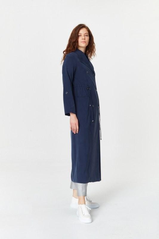Luxury Trenchcoat (Navy Blue)