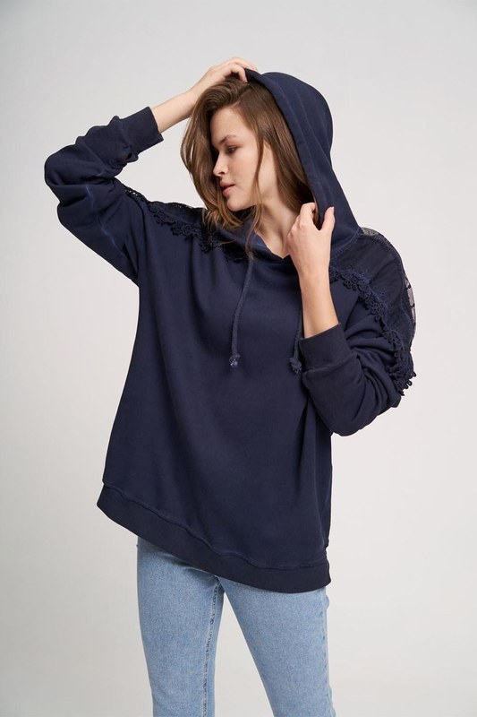 Special Wash Sweatshirt (Indigo)