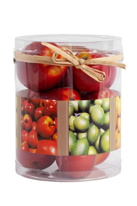 Decorative Boxed Red Apple