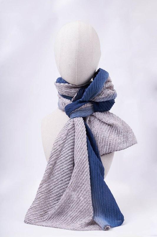 Degradeli Şal (Mavi)
