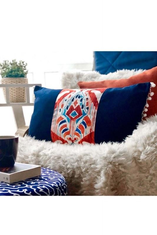Decorative Rectangle Pillow Case (33X57)