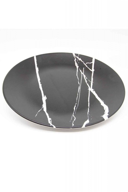 Decorative Plate (Marble Pattern)