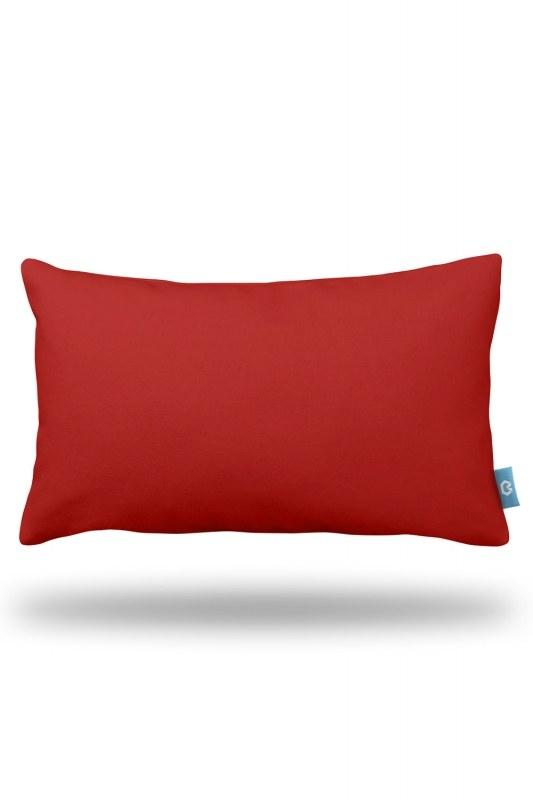 أحمر ، وسادة الزخرفية (33X57)