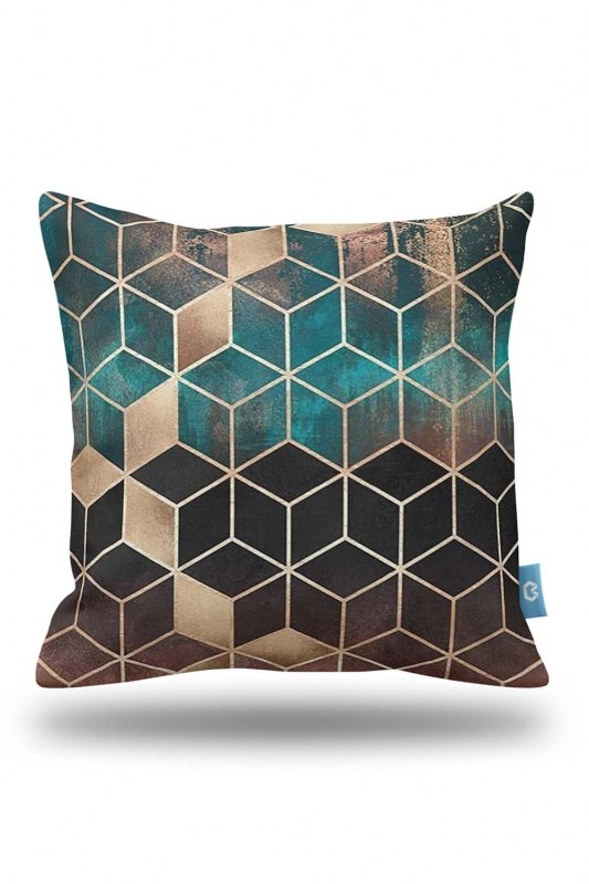Decorative Pillow Cover With Motives (43X43)