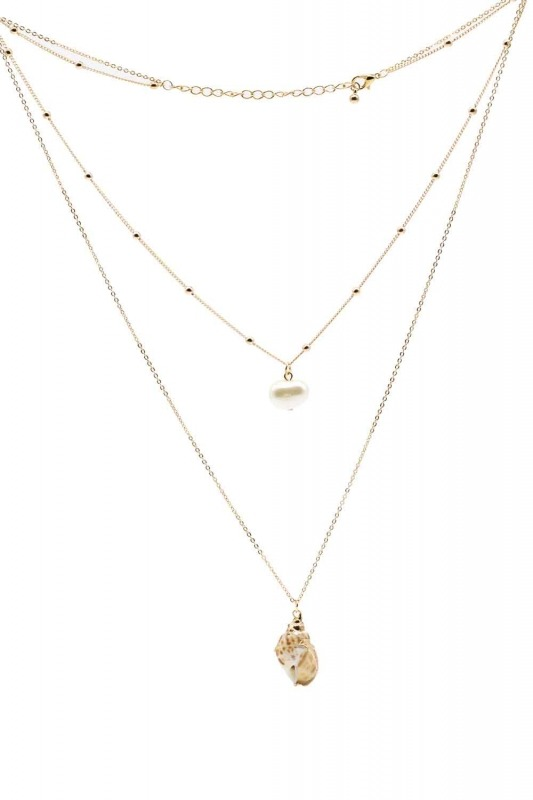 Sea Shell Detailed Necklace