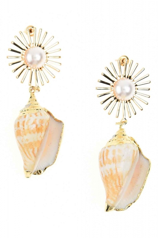 Seashell Earrings (St)