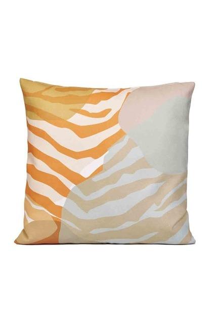 Desenli Kırlent Kılıfı 45x45 (Zebra) - Thumbnail