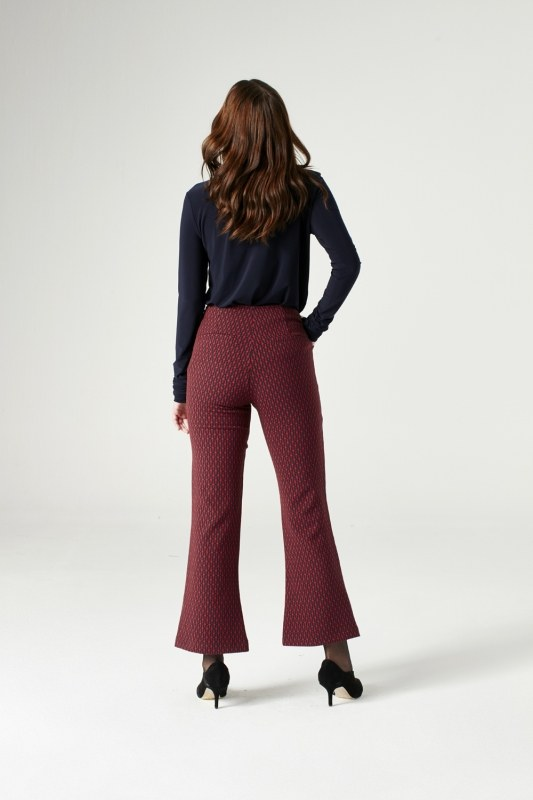 Figured Trousers (Red)