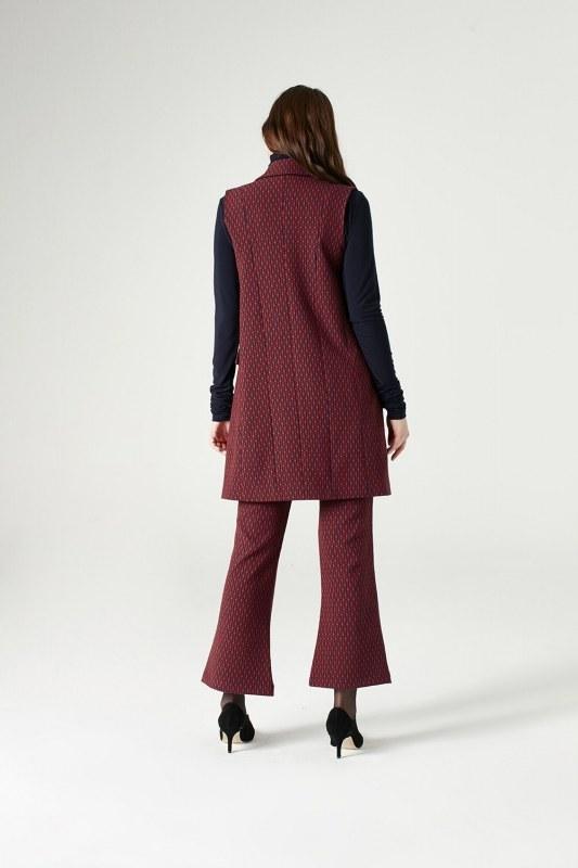 Figured Vest (Red)