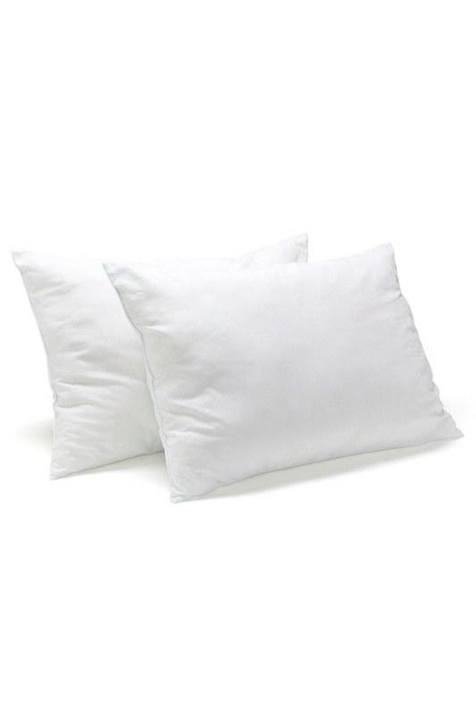 Dolgulu Kırlent Yastık 35X55 (Beyaz)