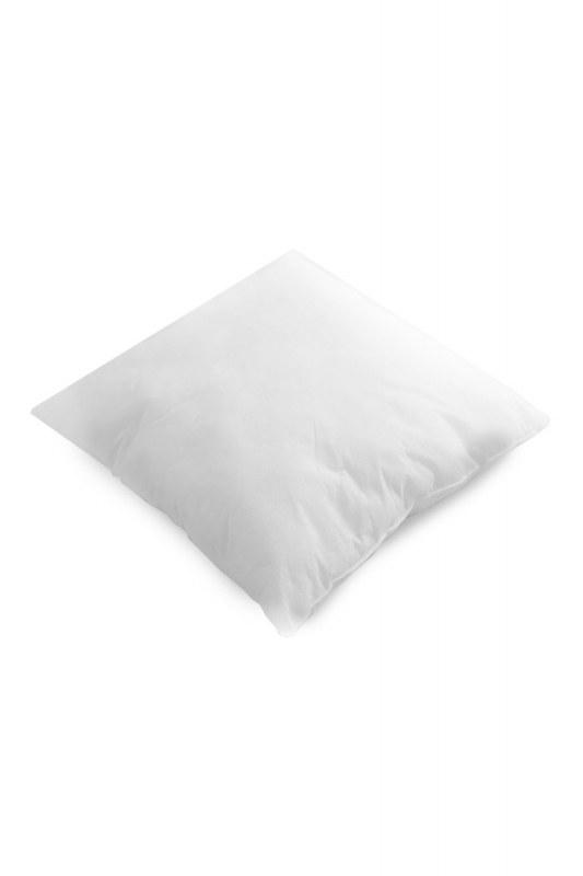 Dolgulu Kırlent Yastık 45X45 (Beyaz)