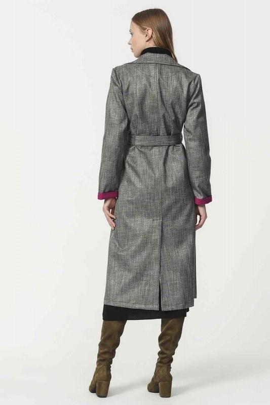 Plaid Trenchcoat (Purple)