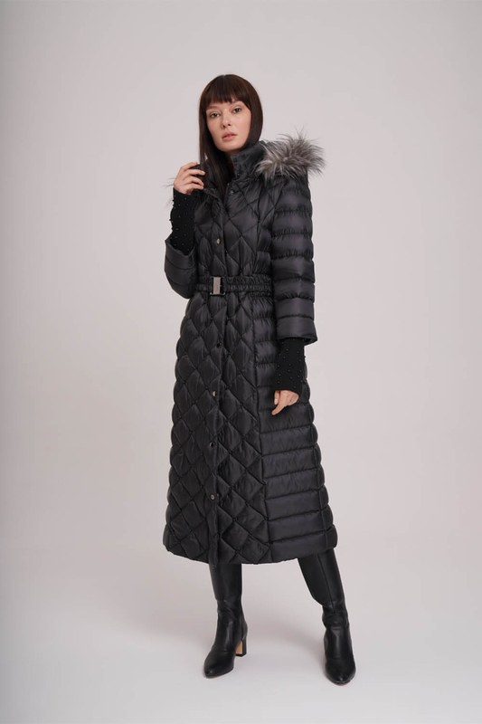 Sim Laced Down Jacket (Black)