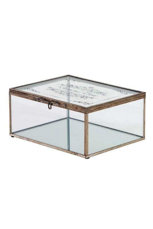 صندوق مجوهرات معدني (كبير)