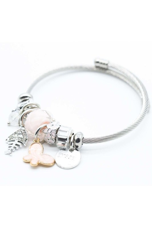 Fish Detailed Bracelet (Pink)
