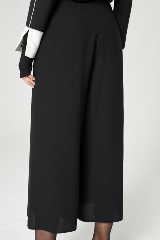 Geniş Kesim Pantolon (Siyah)