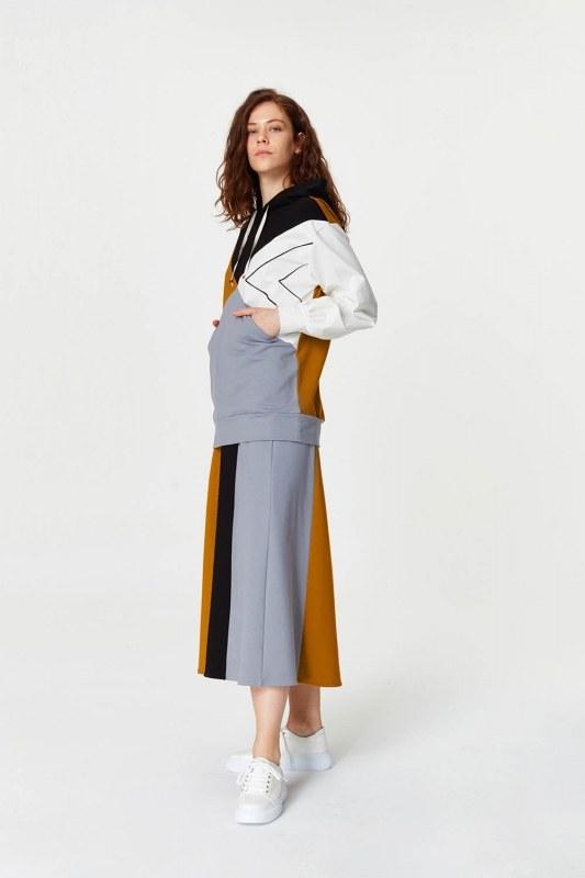 Multi-Pieces Sweatshirt (Grey)