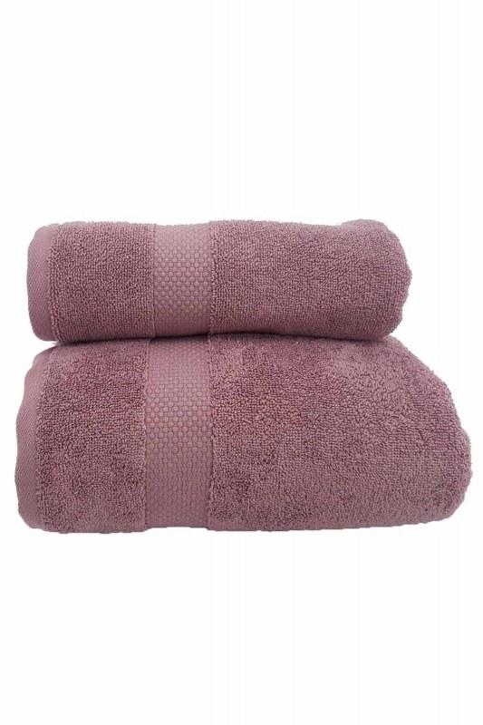 Cotton Towel (50X90) (Rose)