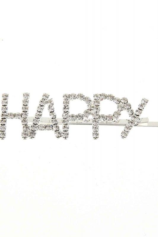 مشبك مع الحجر'السعيدة'